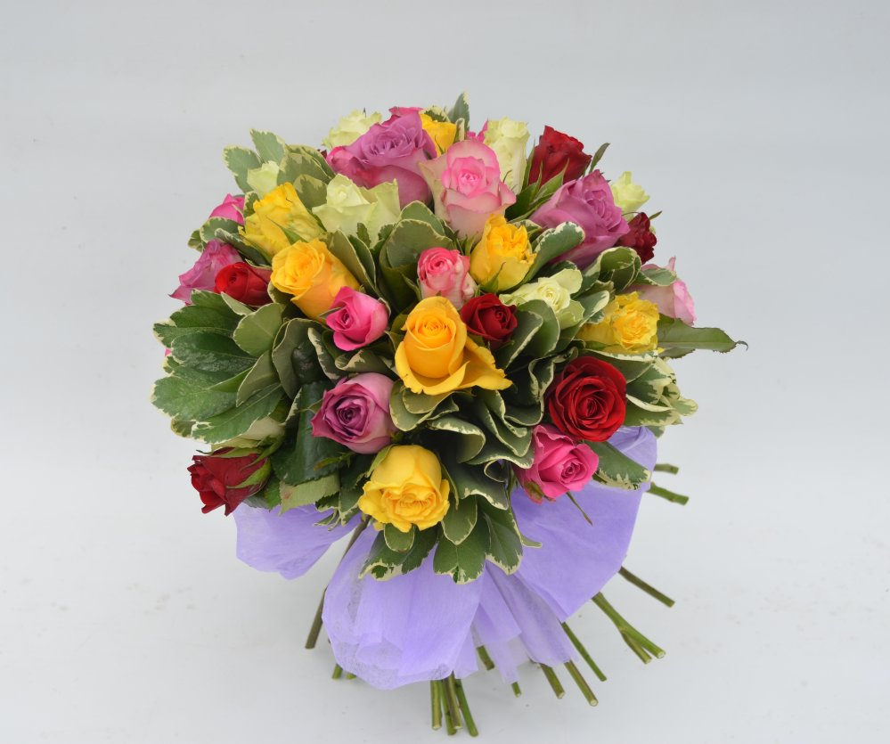 Bouquet di rose miste