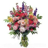 Bouquet of fresh seasonal flowers