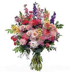 Mazzo Di Fiori A Gambo Lungo.Bouquet Of Fresh Seasonal Flowers Fiori De Berto Send Flowers