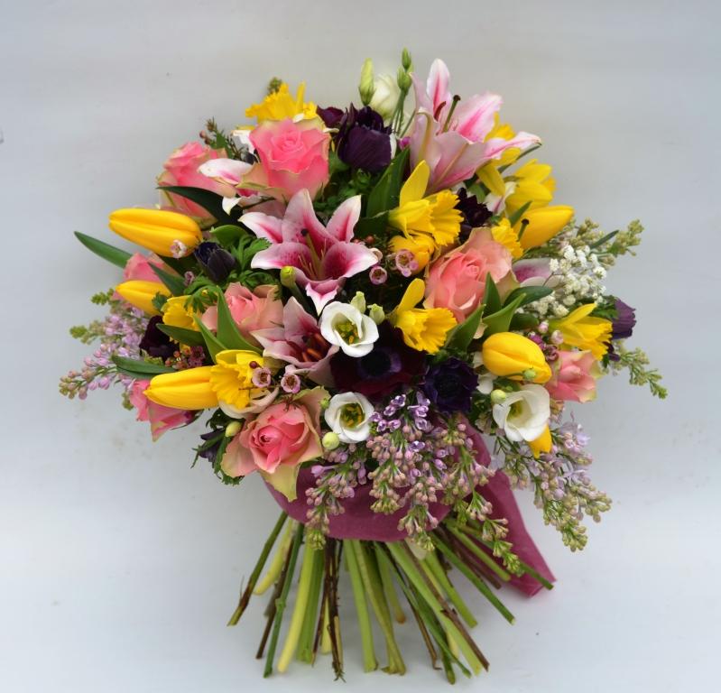 Molto Bouquet di fiori misti - Fiori De Berto - Consegna Fiori a Trieste XH06