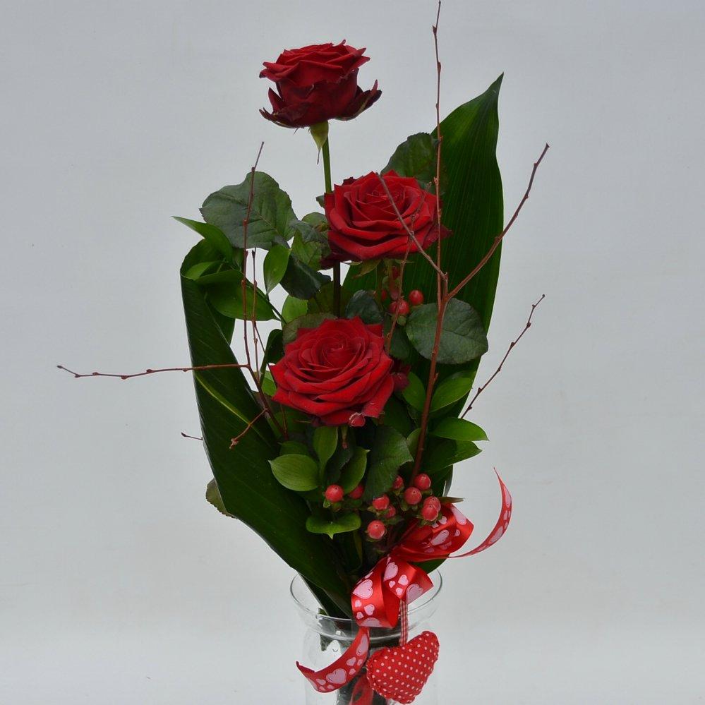 Rose rosse extra fiori de berto consegna fiori a trieste for Quadri con rose rosse