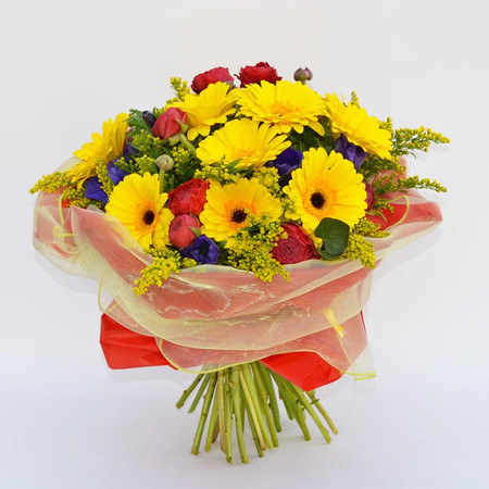 Foto Bouquet with gerberas