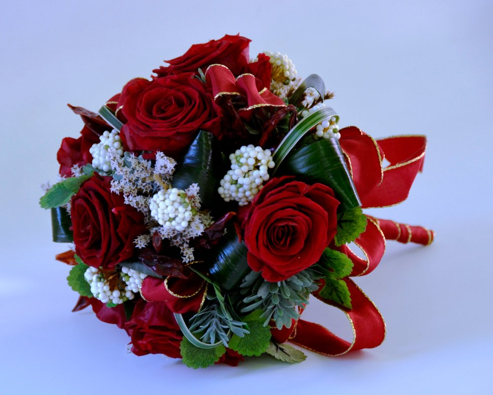 spesso Bouquet of Preserved Roses - Fiori De Berto - Send Flowers to Como  EJ78