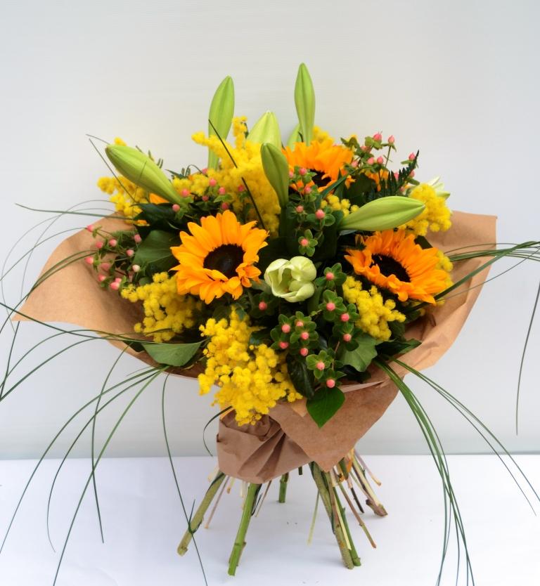 Girasoli Finti Matrimonio : Composizioni floreali con girasoli hs pineglen