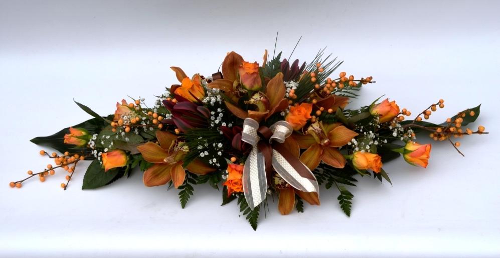 Centrotavola dai colori autunnali fiori de berto for Immagini fiori autunnali