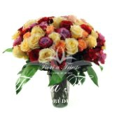 Mixed Roses Bouquet.